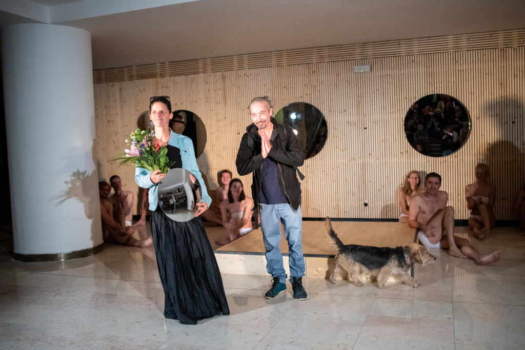 Apolena Vanišová, Petr Krusha a Zola, foto: Anna Hladká